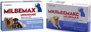 Таблетки от глистов Мильбемакс для собак. Инструкция, цена и отзывы