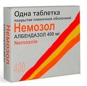 Как правильно принимать Немозол от глистов? Можно ли совмещать с алкоголем?
