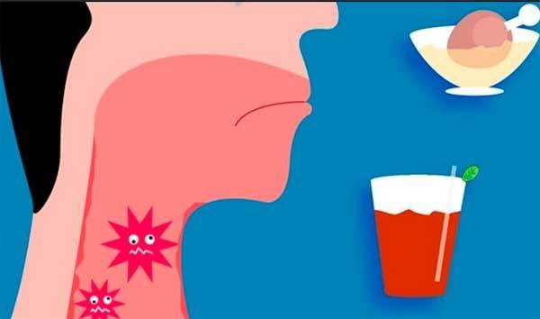 Постоянная температура и слизь на задней стенке горла - советы врачей на каждый день