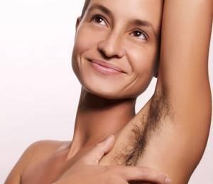 Не растут волосы под мышками - советы врачей на каждый день
