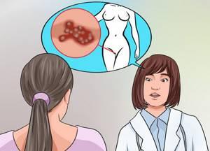 Воспаление в области лобка - советы врачей на каждый день
